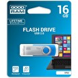 GOODRAM USB flash disk UTS2 16GB USB 2.0 Modrá