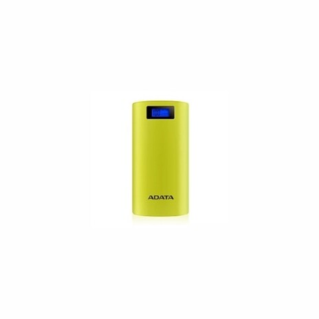 ADATA P20000D Power Bank, 20000mAh, LED flashlight, yellow