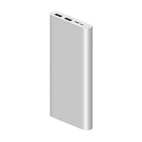 Xiaomi Mi 18W Fast Charge Power Bank 10000mAh 3 stříbrná
