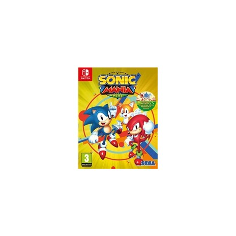 Nintendo Switch hra SONIC MANIA PLUS