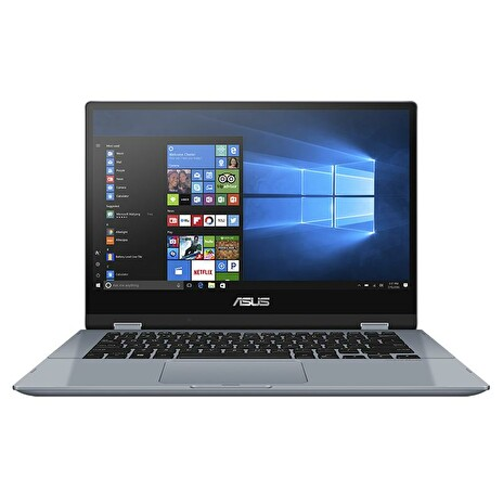 "ASUS Vivobook Flip TP412FA - 14""/Touch/i3-10110U/8GB/256GB SSD/W10 Home in S Mode (G. Blue/Aluminum)"