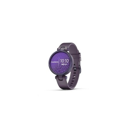 Garmin hodinky Lily Sport Midnight Orchid/Orchid Silicone Band