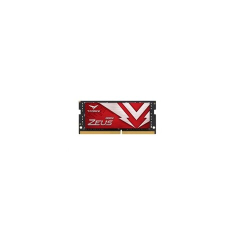 SODIMM DDR4 8GB 3200MHz, CL16, (KIT 1x8GB), T-FORCE ZEUS, Red