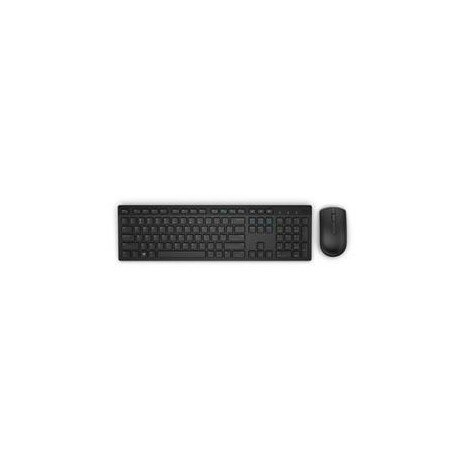 Dell Wireless Keyboard and Mouse-KM636 - Slovakian (QWERTZ) - Black